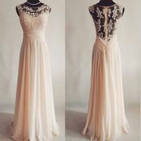 Spets Balkl�nning med chiffong kjol